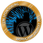 I'm sponsoring WordCamp Detroit 2011