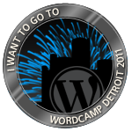 I want to attend WordCamp Detroit 2011